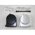 B & R Billet Distributor Block Off Cap